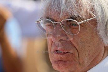 World © Octane Photographic Ltd. F1 Hungarian GP - Hungaroring, Saturday 27th July 2013 - Paddock. Bernie Ecclestone. Digital Ref : 0762lw1d0737