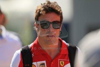 World © Octane Photographic Ltd. F1 Hungarian GP - Hungaroring, Saturday 27th July 2013 - Paddock. Scuderia Ferrari - Fernando Alonso. Digital Ref : 0762lw1d2993