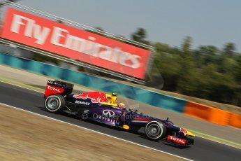 World © Octane Photographic Ltd. F1 Hungarian GP - Hungaroring, Saturday 27th July 2013 - Practice 3. Infiniti Red Bull Racing RB9 - Mark Webber. Digital Ref : 0763lw1d0773