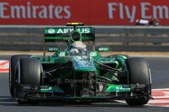 World © Octane Photographic Ltd. F1 Hungarian GP - Hungaroring. Friday 26th July 2013. F1 Practice 1. Caterham F1 Team CT03 - Giedo van der Garde. Digital Ref : 0758lw1d0827