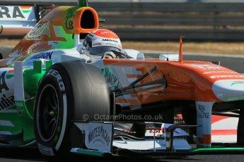 World © Octane Photographic Ltd. F1 Hungarian GP - Hungaroring. Thursday  25th July 2013. F1 Practice 1. Sahara Force India VJM06 - Paul di Resta. Digital Ref : 0758lw1d0903