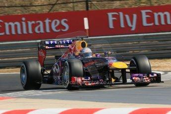 World © Octane Photographic Ltd. F1 Hungarian GP - Hungaroring. Friday 26th July 2013. F1 Practice 1. Infiniti Red Bull Racing RB9 - Sebastian Vettel. Digital Ref : 0758lw1d0923