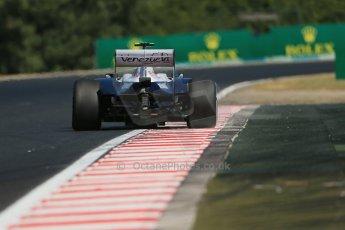 World © Octane Photographic Ltd. F1 Hungarian GP - Hungaroring. Friday 26th July 2013. F1 Practice 1. Williams FW35 - Valtteri Bottas. Digital Ref  :0758lw1d1187