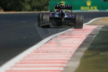 World © Octane Photographic Ltd. F1 Hungarian GP - Hungaroring. Friday 26th July 2013. F1 Practice 1. Infiniti Red Bull Racing RB9 - Mark Webber. Digital Ref : 0758lw1d1209