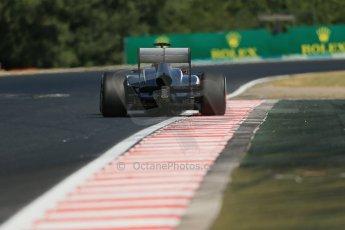 World © Octane Photographic Ltd. F1 Hungarian GP - Hungaroring. Friday 26th July 2013. F1 Practice 1. Williams FW35 - Pastor Maldonado. Digital Ref : 0758lw1d1221
