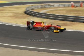 World © Octane Photographic Ltd. GP2 Hungarian GP, Hungaroring, Friday 26th July 2013. Practice. Fabio Leimer- Racing Engineering. Digital Ref: 0759lw1d0409