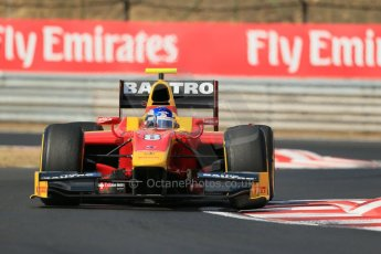 World © Octane Photographic Ltd. GP2 Hungarian GP, Hungaroring, Friday 26th July 2013. Qualifying. Fabio Leimer- Racing Engineering. Digital Ref: 0761lw1d2546
