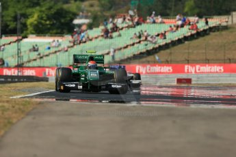World © Octane Photographic Ltd. GP2 Hungarian GP, Hungaroring, Friday 26th July 2013. Qualifying. Alexander Rossi – EQ8 Caterham Racing. Digital Ref : 0761lw1d2666