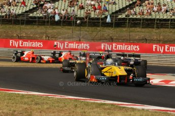 World © Octane Photographic Ltd. GP2 Hungarian GP, Hungaroring, Saturday 27th July 2013. Race 1. Digital Ref : 0765lw1d1269