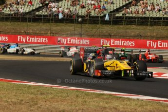 World © Octane Photographic Ltd. GP2 Hungarian GP, Hungaroring, Saturday 27th July 2013. Race 1. Digital Ref : 0765lw1d1273