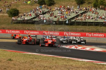 World © Octane Photographic Ltd. GP2 Hungarian GP, Hungaroring, Saturday 27th July 2013. Race 1. Digital Ref : 0765lw1d1284