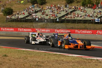 World © Octane Photographic Ltd. GP2 Hungarian GP, Hungaroring, Saturday 27th July 2013. Race 1. Digital Ref : 0765lw1d1304