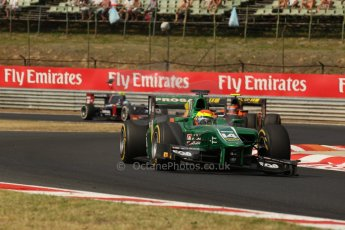 World © Octane Photographic Ltd. GP2 Hungarian GP, Hungaroring, Saturday 27th July 2013. Race 1. Digital Ref : 0765lw1d1388