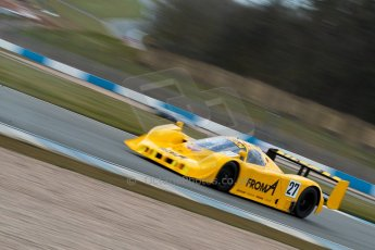 World © Octane Photographic Ltd. Masters Testing – Thursday 4th April 2013. Nissan R90 CK - Steve Tandy. Digital ref : 0629ce1d0140
