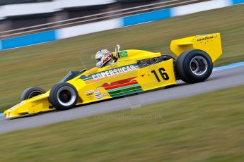 World © Octane Photographic Ltd. Masters Testing – Thursday 4th April 2013. FIA Masters Historic Formula One Championship. Bob Berridge. Ex-Emerson Fittipaldi F5A2. Digital ref : 0629ce1d0648