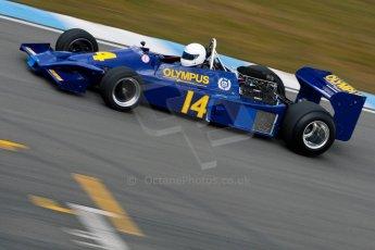 World © Octane Photographic Ltd. Masters Testing – Thursday 4th April 2013. FIA Masters Historic Formula One Championship. Digital ref : 0629ce1d0752
