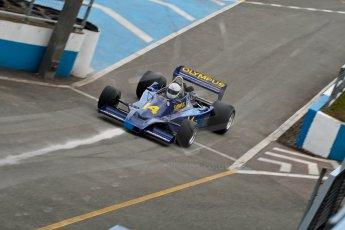 World © Octane Photographic Ltd. Masters Testing – Thursday 4th April 2013. FIA Masters Historic Formula One Championship. Digital ref : 0629ce1d0840