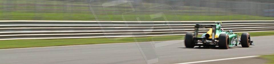 World © Octane Photographic Ltd. F1 Italian GP - Monza, Friday 6th September 2013 - Practice 2. Caterham F1 Team CT03 - Giedo van der Garde. Digital Ref : 0813cb7d5335