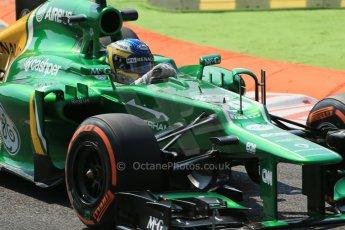 World © Octane Photographic Ltd. F1 Italian GP - Monza, Friday 6th September 2013 - Practice 2. Caterham F1 Team CT03 - Charles Pic. Digital Ref : 0813lw1d2610