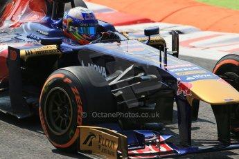 World © Octane Photographic Ltd. F1 Italian GP - Monza, Friday 6th September 2013 - Practice 2. Scuderia Toro Rosso STR 8 - Daniel Ricciardo. Digital Ref : 0813lw1d2739