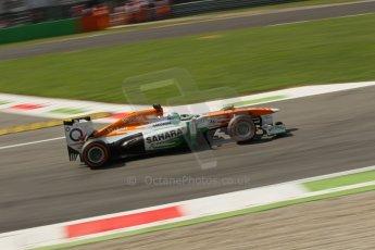 World © Octane Photographic Ltd. F1 Italian GP - Monza, Friday 6th September 2013 - Practice 2. Sahara Force India VJM06 - Paul di Resta. Digital Ref : 0813lw1d42434