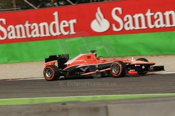 World © Octane Photographic Ltd. F1 Italian GP - Monza, Saturday 7th September 2013 - Practice 3. Marussia F1 Team MR02 - Jules Bianchi. Digital Ref :