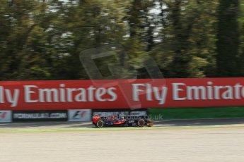 World © Octane Photographic Ltd. F1 Italian GP - Monza, Saturday 7th September 2013 - Practice 3. Scuderia Toro Rosso STR8 - Jean-Eric Vergne. Digital Ref :