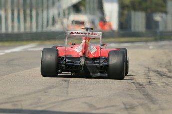 World © Octane Photographic Ltd. F1 Italian GP - Monza, Saturday 7th September 2013 - Qualifying. Scuderia Ferrari F138 - Felipe Massa. Digital Ref :