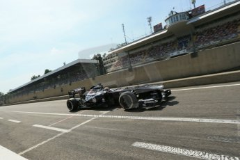 World © Octane Photographic Ltd. F1 Italian GP - Monza, Saturday 7th September 2013 - Qualifying. Williams FW35 - Pastor Maldonado. Digital Ref :