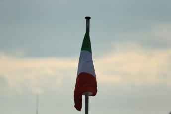World © Octane Photographic Ltd. F1 Italian GP - Monza, Sunday 8th September 2013 - Paddock. Italian Flag. Digital Ref :