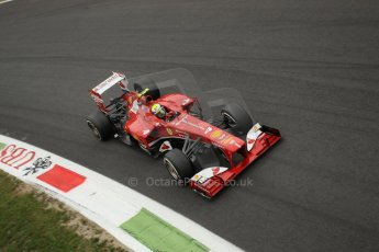 World © Octane Photographic Ltd. F1 Italian GP - Monza, Sunday 8th September 2013 - Race. Scuderia Ferrari F138 - Felipe Massa. Digital Ref :
