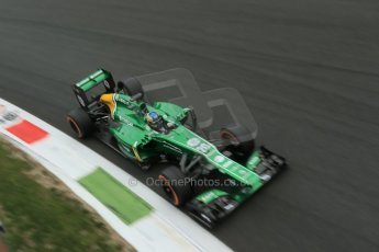 World © Octane Photographic Ltd. F1 Italian GP - Monza, Sunday 8th September 2013 - Race. Caterham F1 Team CT03 - Charles Pic. Digital Ref :