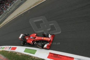 World © Octane Photographic Ltd. F1 Italian GP - Monza, Sunday 8th September 2013 - Race. Scuderia Ferrari F138 - Fernando Alonso. Digital Ref :