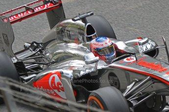 World © Octane Photographic Ltd. F1 Italian GP - Monza, Friday 6th September 2013 - Practice 1. Vodafone McLaren Mercedes MP4/28 - Jenson Button. Digital Ref : 0811cb7d4908