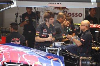 World © Octane Photographic Ltd. F1 Italian GP - Monza, Friday 6th September 2013 - Practice 1. Scuderia Toro Rosso STR 8 detail. Digital Ref : 0811cb7d5218