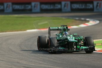 World © Octane Photographic Ltd. F1 Italian GP - Monza, Friday 6th September 2013 - Practice 1. Caterham F1 Team CT03 - Charles Pic. Digital Ref : 0811lw1d1955