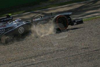 World © Octane Photographic Ltd. F1 Italian GP - Monza, Friday 6th September 2013 - Practice 1. Williams FW35 - Valtteri Bottas. Digital Ref : 0811lw1d2541