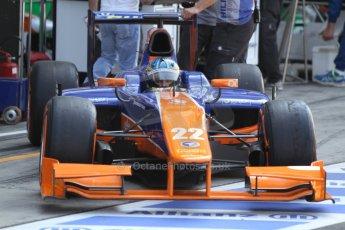 World © Octane Photographic Ltd. GP2 Italian GP, Monza, Friday 6th September 2013. Practice Adrian Quaife-Hobbs - Hilmer Motorsport. Digital Ref : 0812cb7d5089