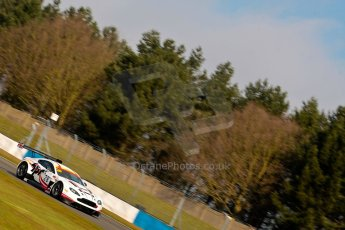 World © Octane Photographic Ltd./Chris Enion. Britcar MSA British Endurance Championship – Donington Park, Saturday 13th April 2013, Qualifying. Paul Bailey/Andy Schulz /Tom Ferrier– Aston Martin V12 Vantage – Horsepower Racing. Digital ref : 0631ce1d1008