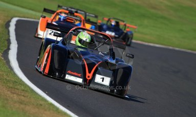 World © Carl Jones/Octane Photographic Ltd. Saturday 3rd August 2013. OSS - Brands Hatch - Race 1. Darcy Smith - Radical SR4. Digital Ref : 0772cj7d0083