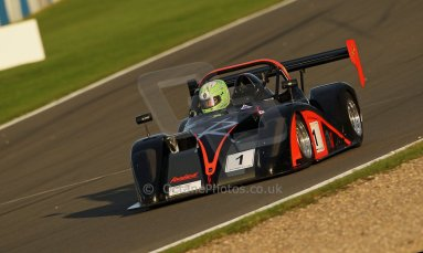 World © Octane Photographic Ltd. BRSCC - OSS Championship. Saturday 14th September 2013. Donington Park. Saturday 14th September 2013 – Race 1. Darcy Smith – Radical SR4. Digital Ref: 0827cj1d7330
