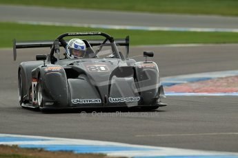 World © Octane Photographic Ltd. BRSCC - OSS Championship. Sunday 15th September 2013. Donington Park. Sunday 15th September 2013 – Race 2. Chris Enderby – Radical SR4. Digital Ref: 0828cj1d7711