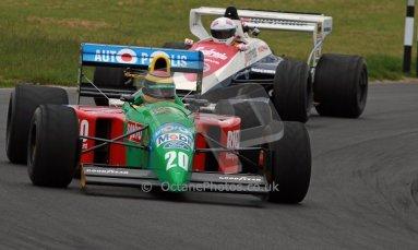 World © Octane Photographic Ltd/ Carl Jones. OSS F1 Demos. Snetterton. Benetton B190. Digital Ref: 0719cj7d0196