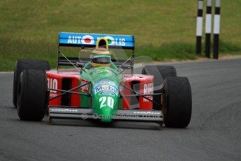 World © Octane Photographic Ltd/ Carl Jones. OSS F1 Demos. Snetterton. Benetton B190. Digital Ref: 0719cj7d0226