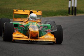 World © Octane Photographic Ltd/ Carl Jones. OSS F1 Demos. Snetterton. Benetton B193b ex-Ricardo Patresse and Michael Schumacher. Digital Ref: 0719cj7d0237