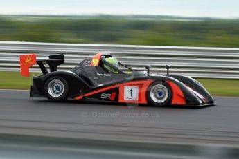 World © Octane Photographic Ltd/ Carl Jones. Saturday 8th June 2013. BRSCC OSS Championship - OSS Race 1. Darcy Smith - Radical SR4. Digital Ref : 0715cj7d0187