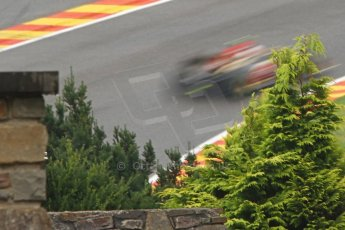 World © Octane Photographic Ltd. Belgian GP Friday 23rd August 2013 F1 Practice 1. Lotus F1 Team E21 - Romain Grosjean. Digital Ref : 0784cb7d1840
