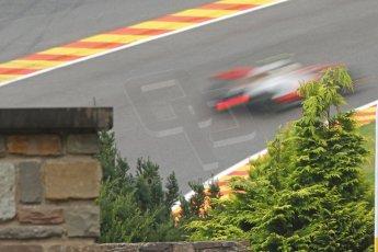 World © Octane Photographic Ltd. Belgian GP Friday 23rd August 2013 F1 Practice 1. Vodafone McLaren Mercedes MP4/28 - Sergio Perez . Digital Ref : 0784cb7d1856