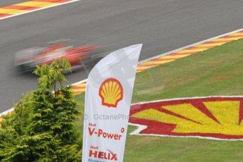 World © Octane Photographic Ltd. Belgian GP Friday 23rd August 2013 F1 Practice 1. Scuderia Ferrari F138 - Felipe Massa. Digital Ref : 0784cb7d1859