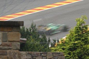 World © Octane Photographic Ltd. Belgian GP Friday 23rd August 2013 F1 Practice 1. Caterham F1 Team CT03 - Heikki Kovalainen. Digital Ref : 0784cb7d1897